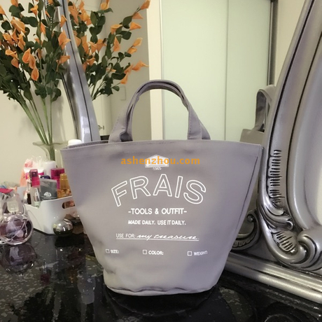 Promotional natural economy custom best printed reusable grey cotton canvas grocery hand bags wholesale