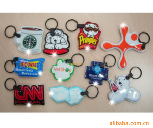 SHENZHOU keychain manufacturers wholesale promotional gifts keychains Soft PVC material key chains