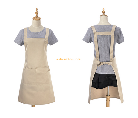 China supplier wholesale custom various colors mens and women garden kitchen natural kids apron