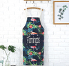 Most popular custom colored polyester aprons promotional children apron oem cotton adult apron