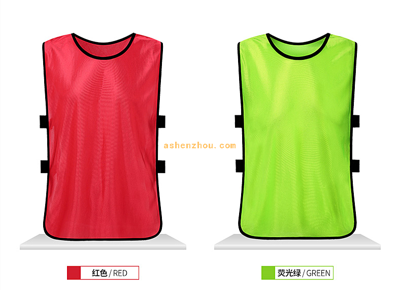 Hot promotion wholesale custom colorful women football training bib gym sport wear mesh men soccer vest