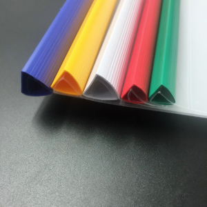 Top quality promotional custom office and school supply A4 plastic pvc spine bar slide binder slide clamp