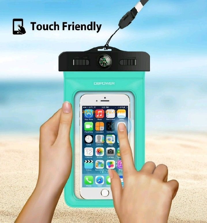 Best waterproof iphone 6s plus cases cheap custom waterproof phone case with armband compass lanyard for smart phones for outdoor sports