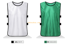 Wholesale good price custom soccer bibs training vest scrimmage jerseys kids football vest