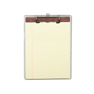 Eco-friendly promotional custom office filing stationery A4 flexible plastic stationery clipboard sizeswith clips