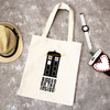 Fashion style wholesale custom printing heavy duty recycled cotton canvas shopping tote bags wholesale