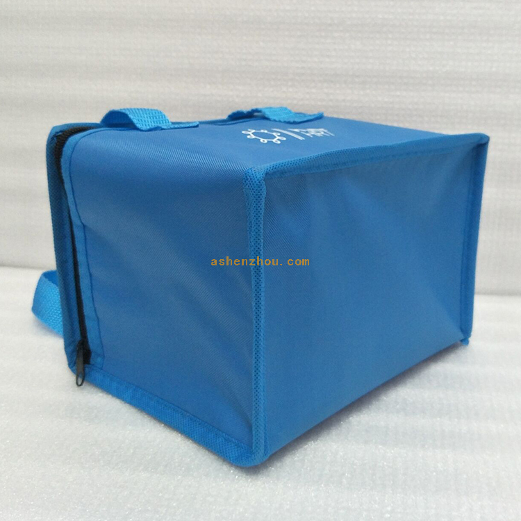Rational construction heavy duty outdoor polyester non woven insulated folding cheap food beer wine bottle cooler bag 12 volt